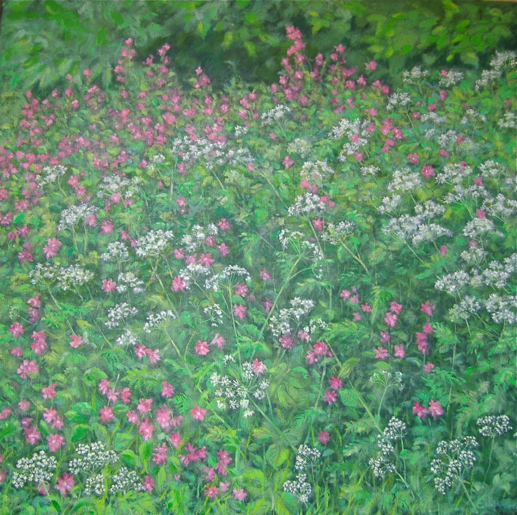 Cow Parsley, finished.