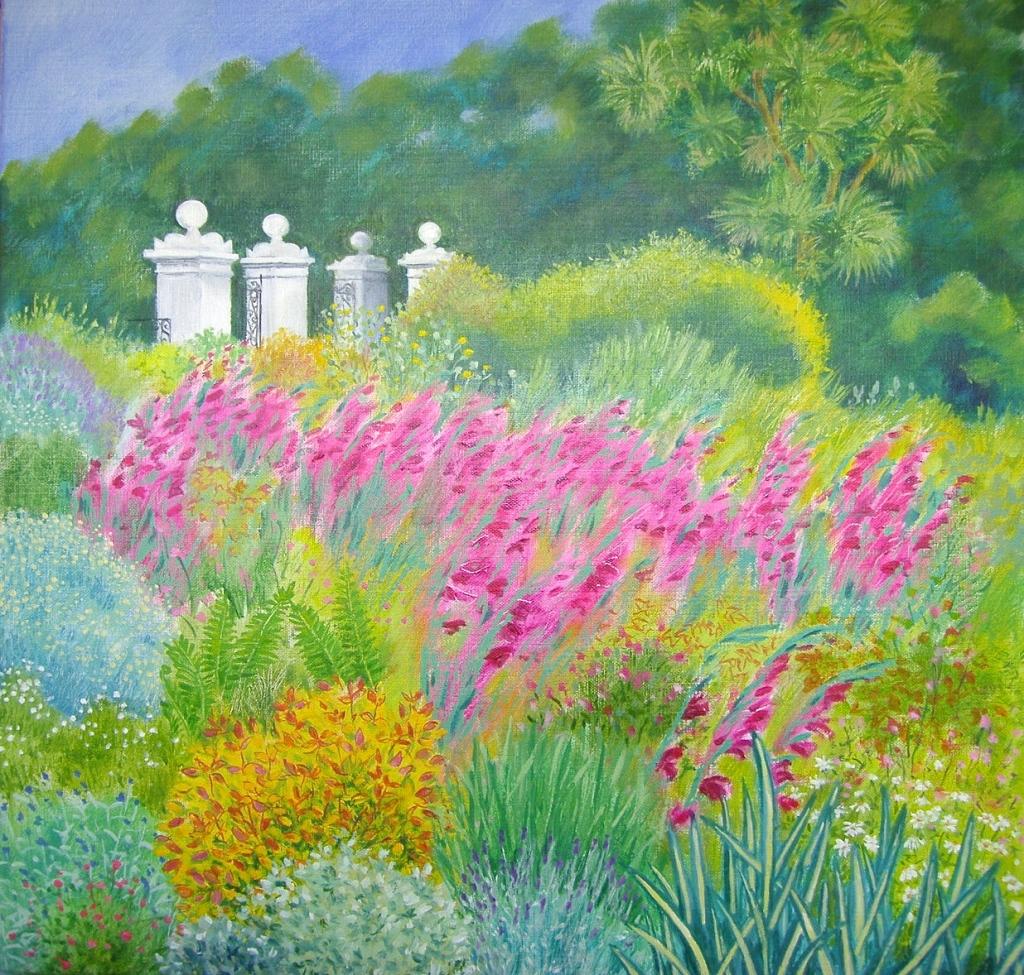 Alkyd oils on linen canvas 50x50 cm