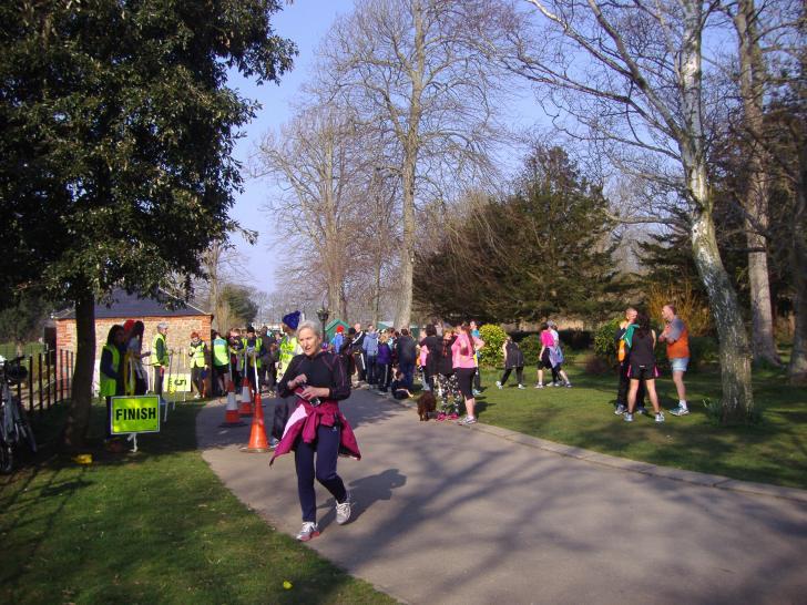 Saturday Morning run in Hotham Park